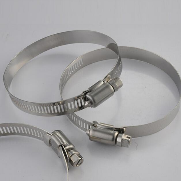 52-76mm,304 Stainless steel hose hoops,clamp hoop,pipe clamp,hose clamp,hydraulic hoses ac12 4 stainless steel hose hoops clamps set silver 12 pcs