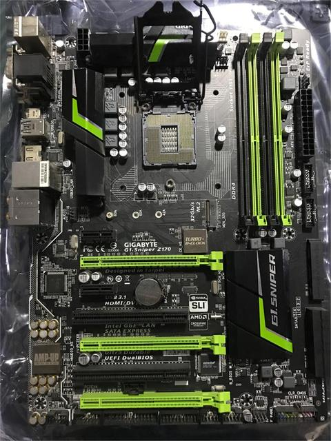 US $162 65 |Gigabyte G1 Sniper Z170 used original overclocking game board  DDR4/LGA1151-in Motherboards from Computer & Office on Aliexpress com |