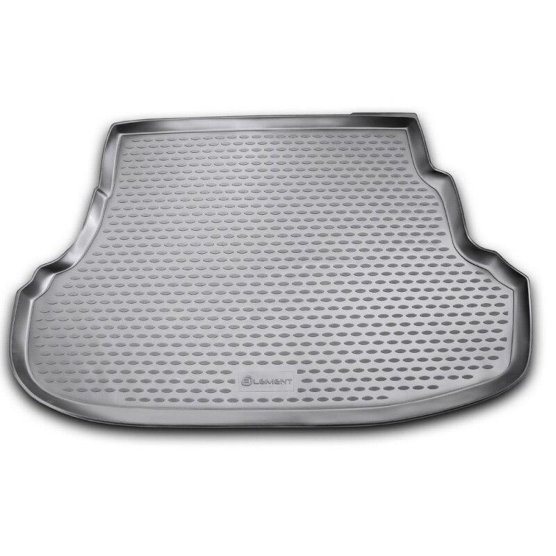 Mat rear trunk lid cover trim For HYUNDAI Solaris 2010-2014, 2014-2016, сед. Base, classic (polyurethane)