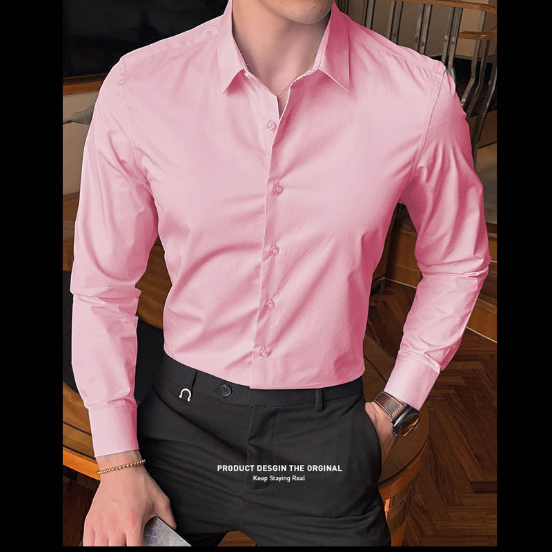 2020 New Fashion Cotton Long Sleeve Shirt Solid Slim Fit Male Social Casual Business White Black Dress Shirt 5XL 6XL 7XL 8XL 6