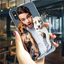 Liam Payne cubierta del teléfono para iPhone XR 5 5S SE 6 6S/6 6S Plus 7 8/7 9 X XS Xs Max duro Shell Slim(China)
