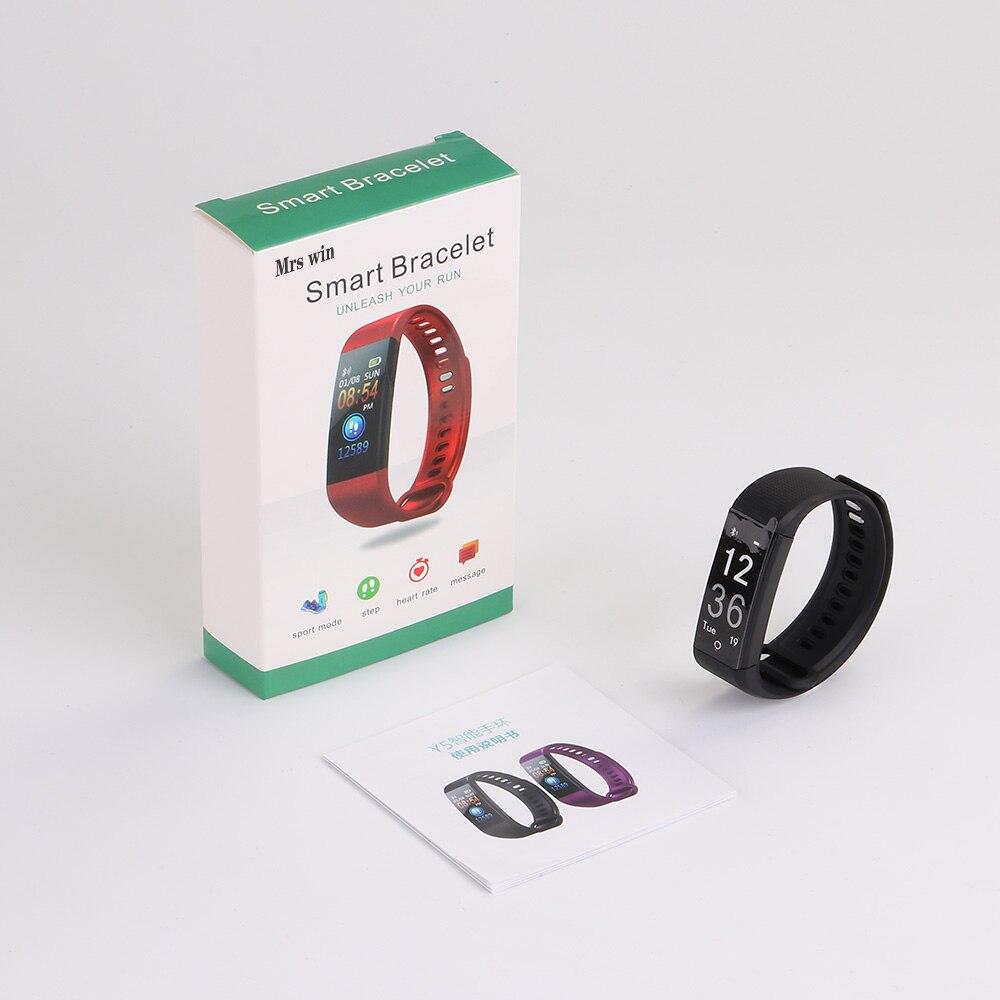 US $14 5  Mrs Win Y5 Smart Watch Fit Bit Fitness Smart Bracelet Smart Band  Activity Tracker Pedometer Smart Watch Vibrating Alarm Clock-in Smart