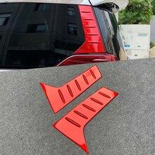 Авто аксессуары столб C заднее лобовое стекло украшение крышка отделка комплект подходит для Toyota Alphard Vellfire