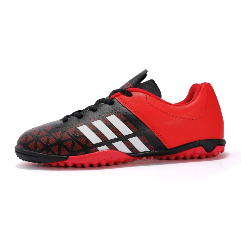 new concept 0f16b 2bef9 US $18.04 5% OFF|Men Soccer Shoes Sport Women Long Spikes ACE X 16 Youth  Kids Superfly Cleats Football High Ankle Boots TF Turf Plus Large Size-in  ...