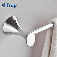 Silber einfache einzigen Handtuchhalter Halter chrom-fertiger Badezimmer Zubehör edelstahl pole F3501