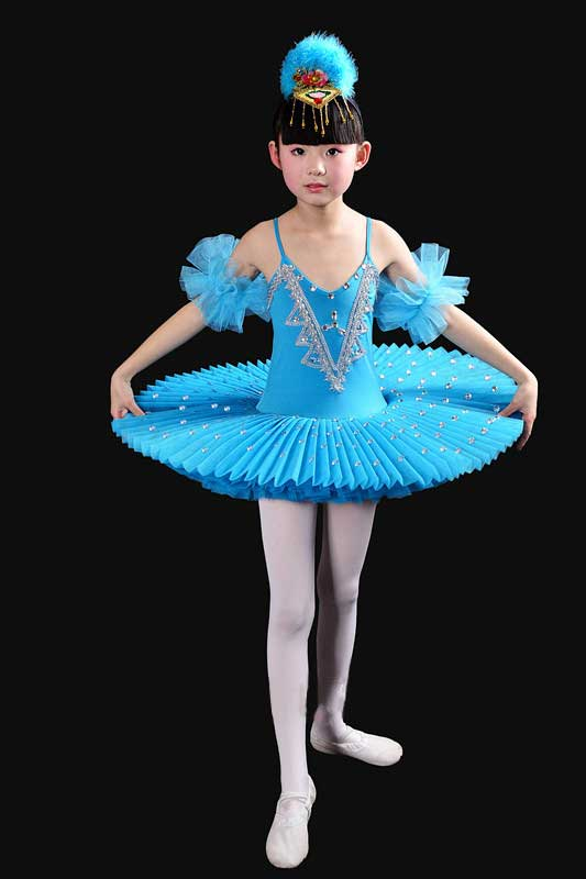 2017 Girls Gymnastic Leotard Ballet Dancing Dress White Swan Lake Costume Ballerina Dress Kids Ballet Dress Children Ballet