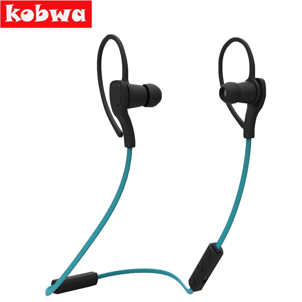 10 UNIDS/LOTE Kobwa Correr Deporte Auricular Inalámbrico Bluetooth 4.1 Manos Lib