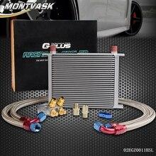 28 Ряд термостат адаптер Двигатели для автомобиля гонки масляный радиатор комплект для автомобиля/грузовик