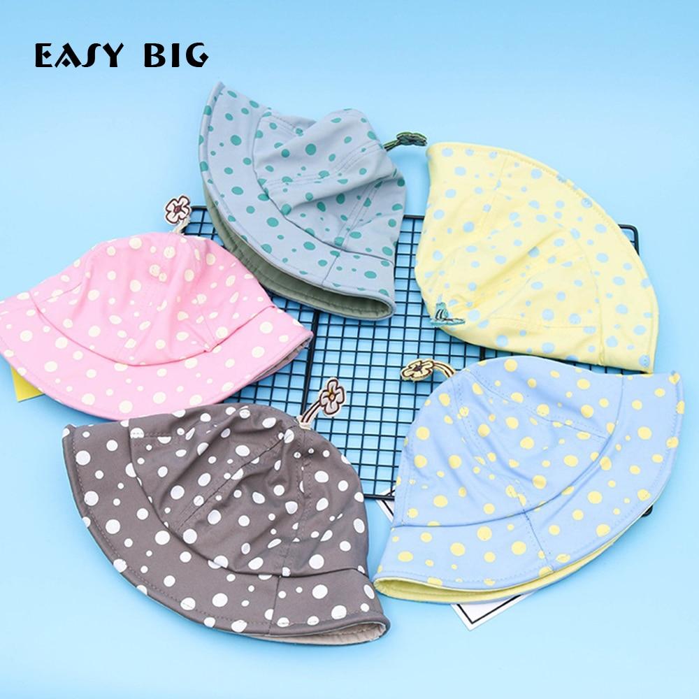 EASY BIG 10-24Months Vasaros taškas Unisex kūdikių skrybėlės - Kūdikių drabužiai - Nuotrauka 1