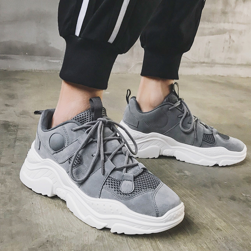 Men Sport Shoes Breathable Men 39 s Running Shoes Wear resistant Sneakers for Men Sapatos Masculino Adulto 2019 Summer New shoe men in Running Shoes from Sports amp Entertainment