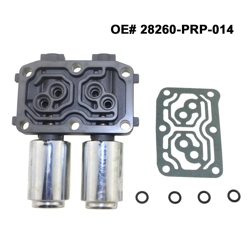 Free Shipping Transmission Dual Linear Shift Solenoid Assy B For Honda Accord Coupe Sedan Acura RSX