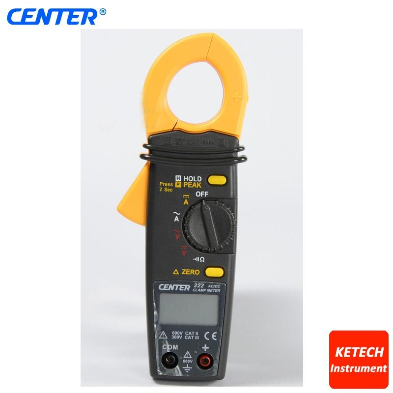 Basso Costo Mini AC TRMS Clamp Meter CENTER222 - 2