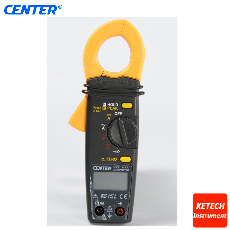 CENTER222 Low Cost Mini AC TRMS Clamp Meter simple low cost electronics projects