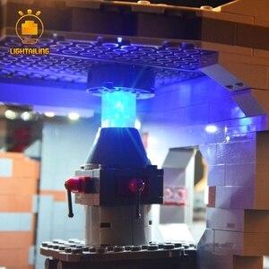 Image 5 - LIGHTAILING LED Light Kit For 10188 Star War Series Death Star Building Blocks Light Set Compatible With 05035 35000 81037