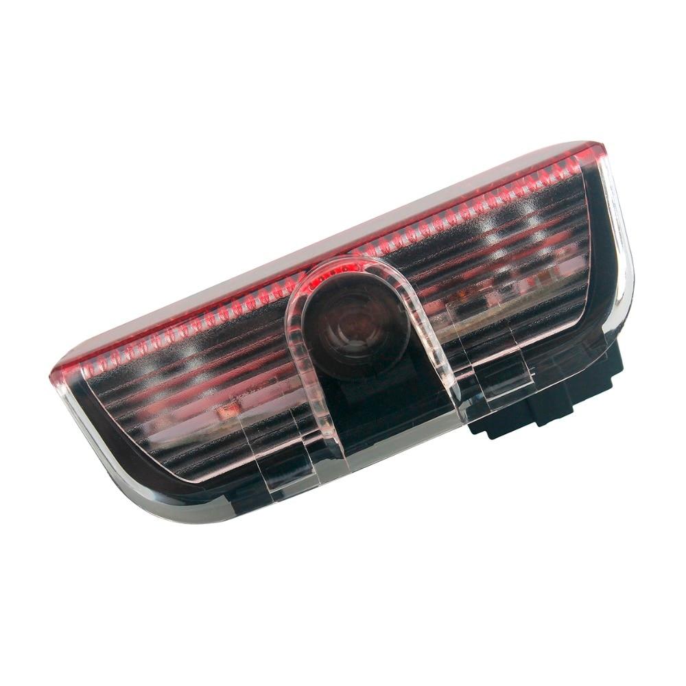 2Pcs Car Styling LED Door Warning logo Courtesy Laser Projector Light for Skoda Superb 2009 2010 2011 2012 2013 2014 2015