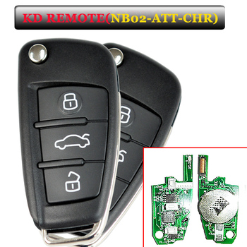 (5 pcs /lot ) NB02 3 button remote key with NB-ATT-Chrysle model  for URG200/KD900/KD200 machine