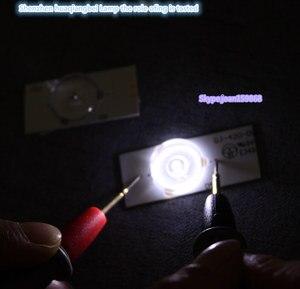 Image 2 - 50 개/몫 32 65 인치 led tv 수리 CL 40 D307 V3 대 한 광학 렌즈 fliter와 100% 새로운 고품질 6 v smd 램프 구슬