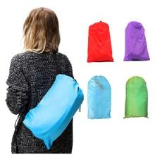 De Aire inflable Sofá Lazy Bag Tumbona Laybag Acudieron Acampar Al Aire Libre Sacos de dormir Cama De Playa Portátiles