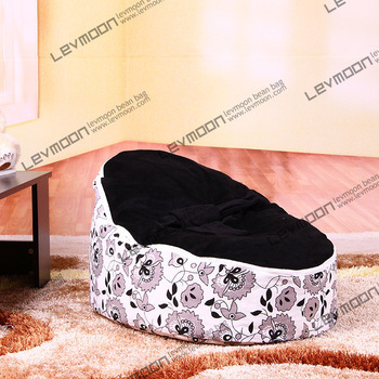 FREE SHIPPING baby bean bag cover with 2pcs black up cover baby seat cover baby bean bag seat baby beanbag kids sofa 2016 hot baby beanbag with filler baby bean bag bed baby beanbag chair baby bean bag seat washable infant kids sofa cp10