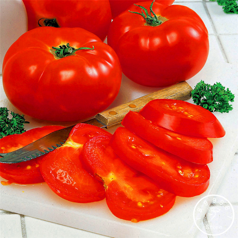 Promotion!Big Beef Hybrid Tomato Seeds, 100 Pieces / Pack, Extra-large, Extra-meaty, Extra-tasty Tomato,#3FFI1C
