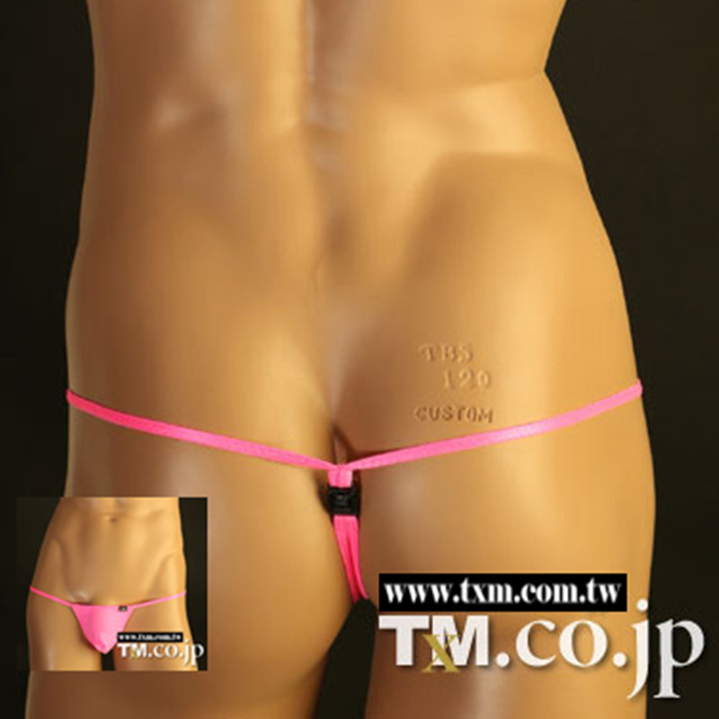 2016 Gay TM  Sexy Underwear Men Thongs Fashion Super Sexy Jockstrap Thong Quick-Dry Low Waist Brand Gay Underwear