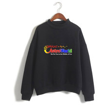 LUCKYFRIDAYF New Travis Scotts ASTROWORLD Turtlenecks Sweatshirts Hoodies Women/Man Casual Collage Style Clothes