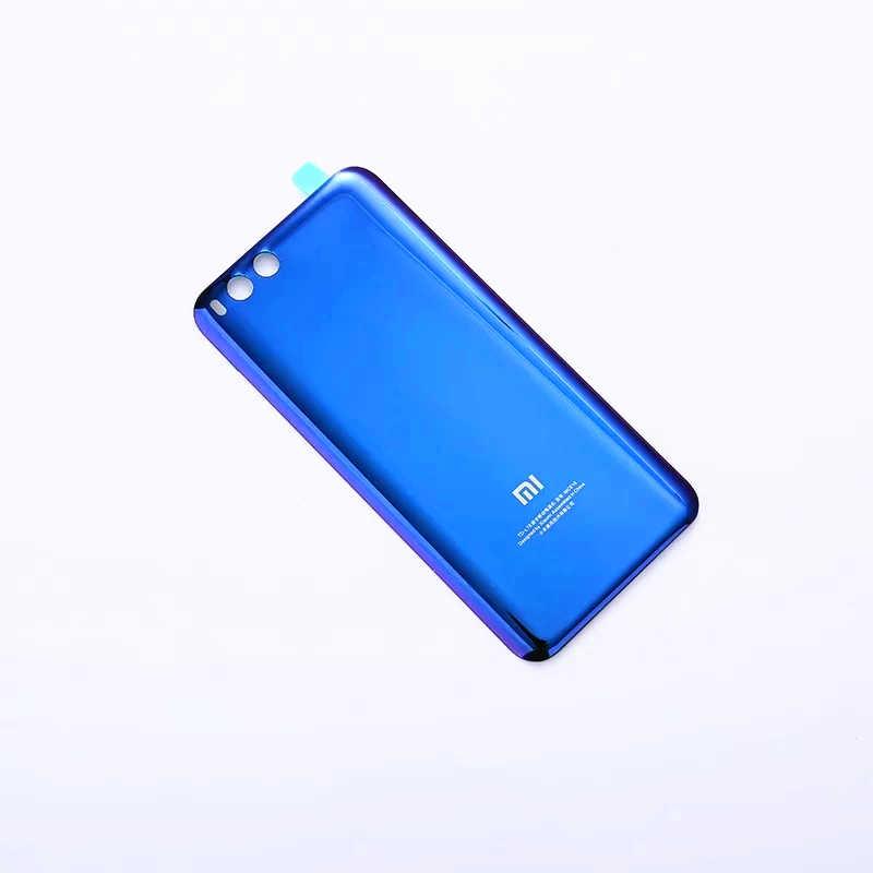 Xiao mi 6 oficial original caso de vidro temperado para xiao mi 6 mi 6 volta capa bateria habitação peças reposição