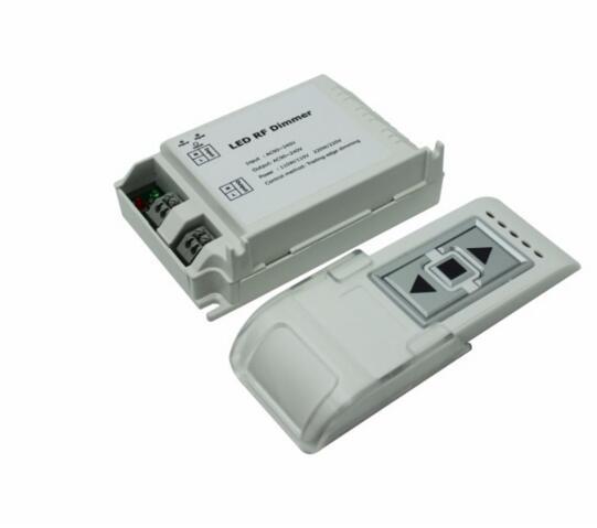 3 key remote led rf dimmer ac90 240v 1 channel trailing. Black Bedroom Furniture Sets. Home Design Ideas