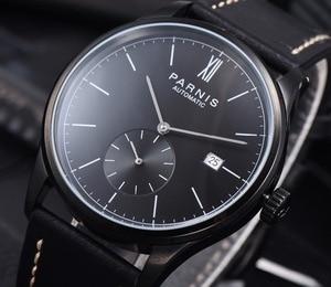 Image 3 - بارنيس ساعات آلية ساعة تقليلية للرجال ساعة اليد الفاخرة مقاوم للماء التلقائي hombre Relogio Masculino 2020 التقويم