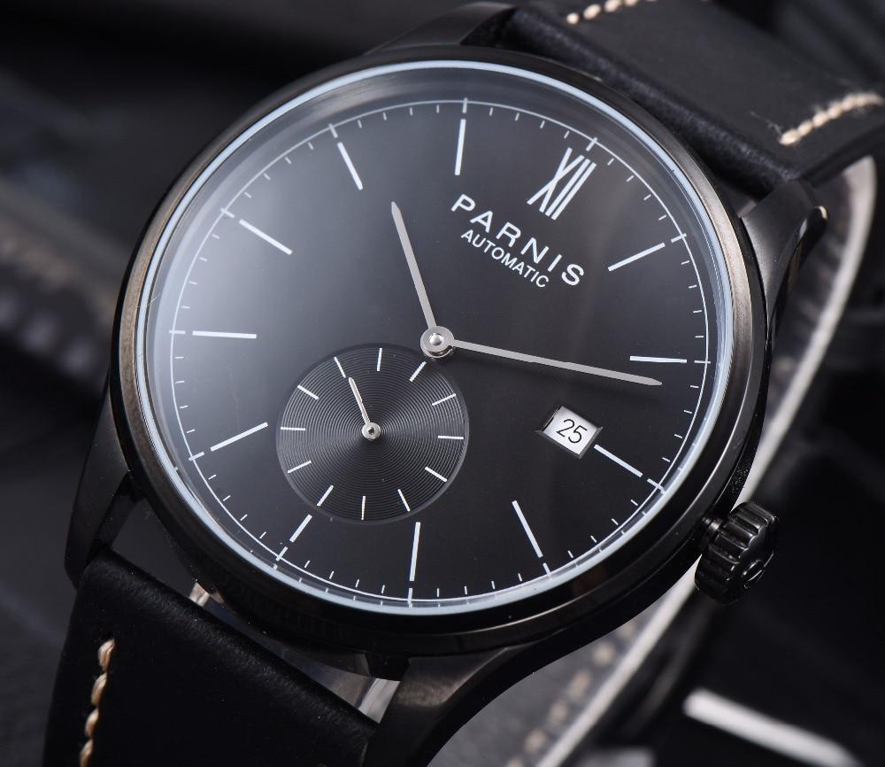 パーニス機械式時計ダイバーミニマリスト腕時計男性用腕時計高級防水自動やつレロジオ Masculino 2019  グループ上の 腕時計 からの 機械式時計 の中 3