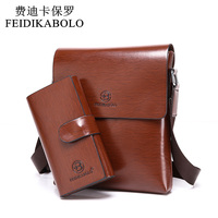 2015 New Style Man Bag Grade Imported PU Leather Messenger Bag Composite Bag Durable Business Bags