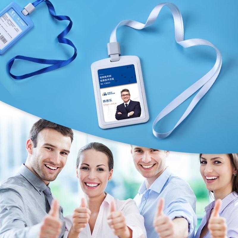 ABS parodos kortelės ID kortelės turėtojas vardas ženklas - Mokyklų ir švietimo reikmenys