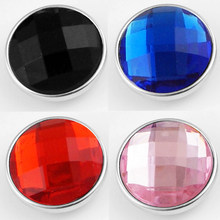 SZ1312 18mm High quality resin Snap button for Snap Jewelry(China)