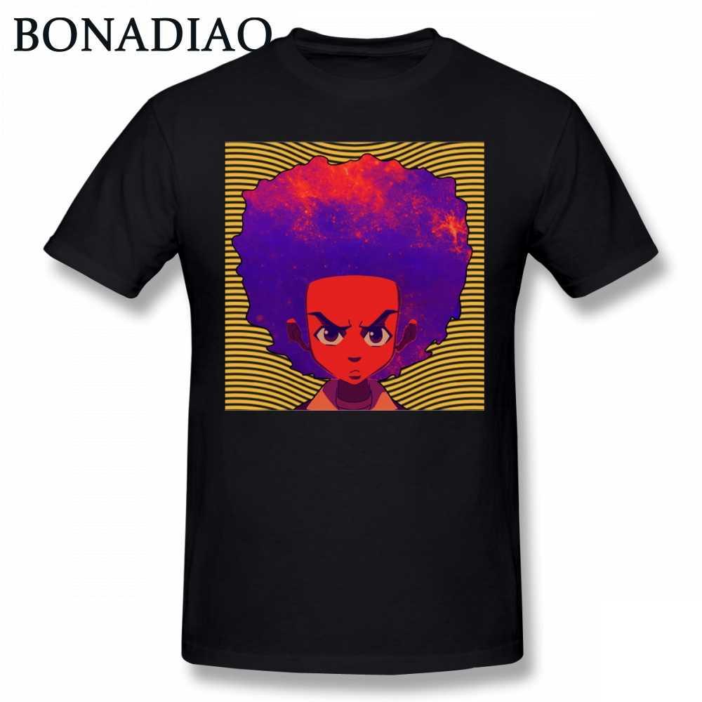 438f4c890 Riley Huey Freeman Boondocks T Shirt For Man 100% Cotton S-6XL USA Cartoon