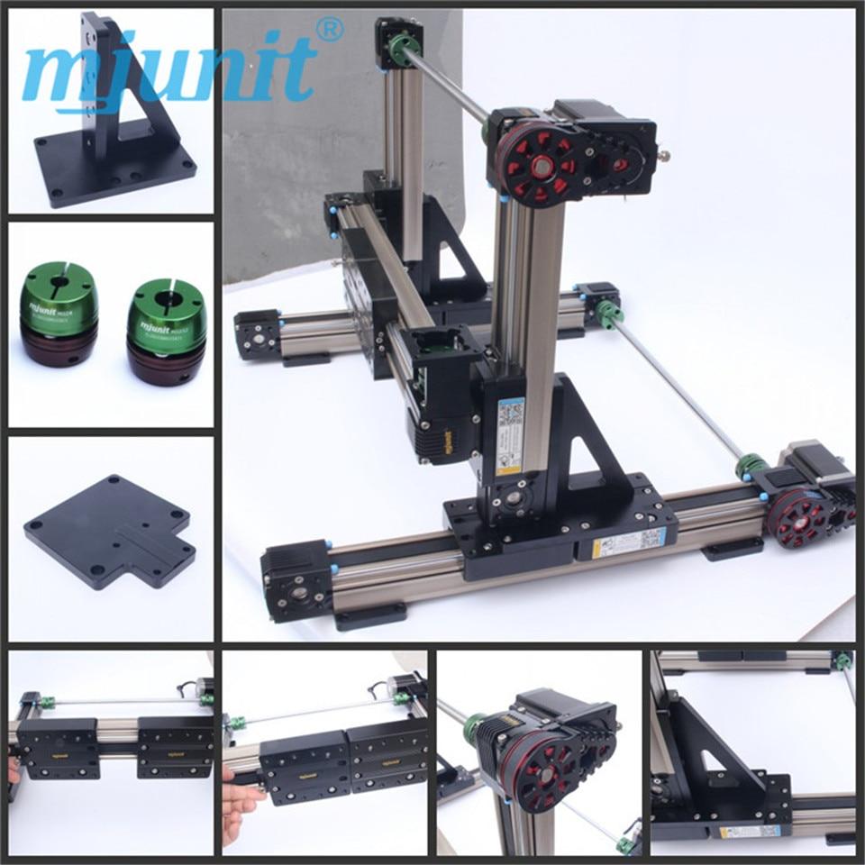 Synchronous belt linear module sliding table/cnc guide rail detection slide rail/point glue coating platform manipulator