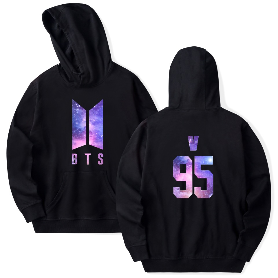 2018 BTS Hoodie kpop mens hip hop tops Harajuku cap hooded Sweatshirt Bangtan boys clothes plus size Hoodies and Sweatshirts