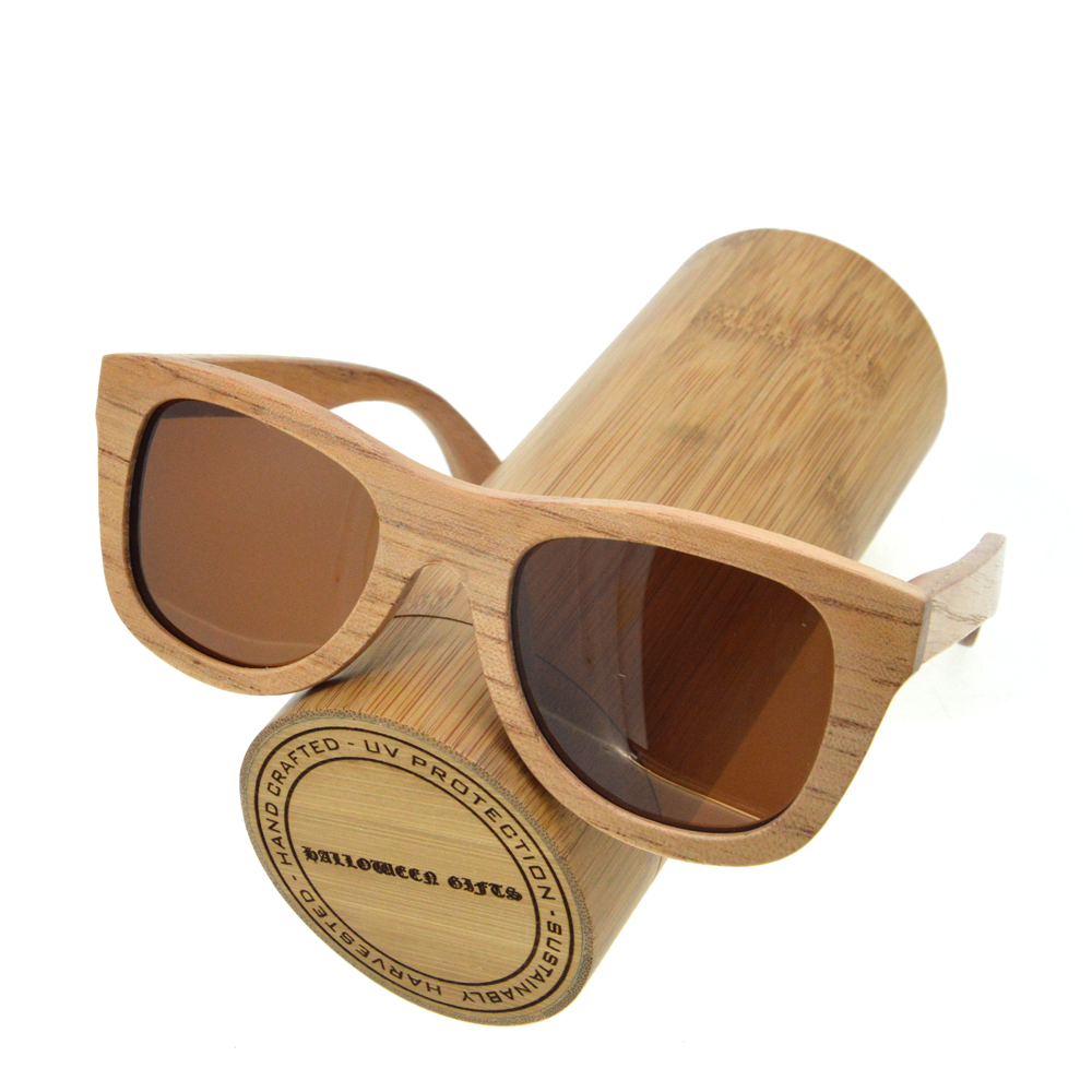 sunglasses 2017 handmade wood sunglasses men women polarized lens wood frame ray bain sunglass for women