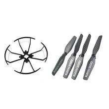 Visuo Xs809hw Xs809w Xs809 Peças Rc Zangão Zangão RC Parte Spare Propeller/Lâminas/Proteção Fram