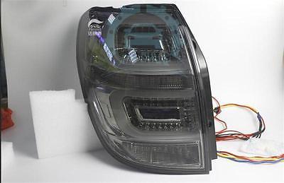 For Chevrolet Captiva 2009-11LED Strip Taillights Rear lamps Lights Smoke Black