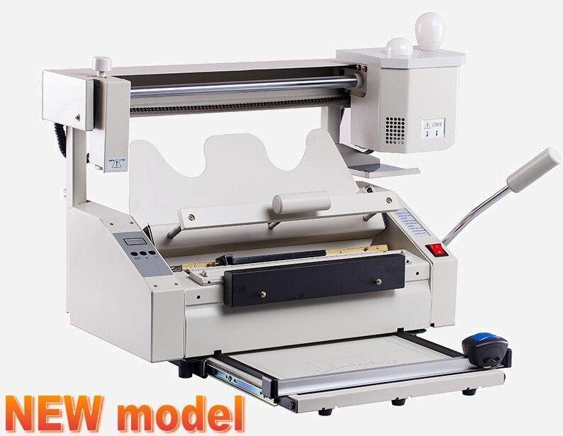 2016 Hot sale Perfect Binding Machine, Melt Glue Book binder. New Model.