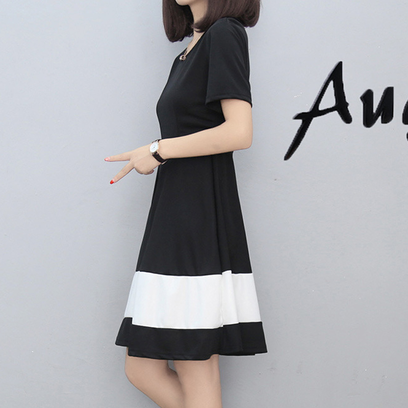 87bad5352ff Workplace casual dress spring and summer fashion simple and elegant women s  dress-in Dresses from Women s Clothing   Accessories on Aliexpress.com