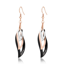 Long Stylish Simple Leaf Shape Drop Earrings For Women Fashionable Geometric pendientes Earrings Jewelry Gifts For Friend цена