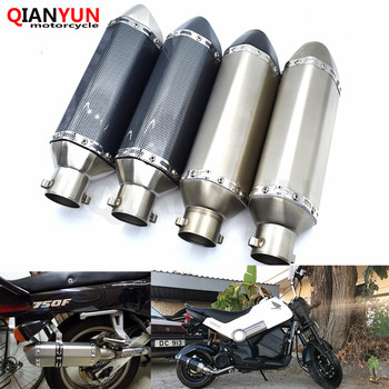 for Motorcycle parts Exhaust Universal 51mm Stainless Steel Motorbike Exhaust Pipe For BMW F800GS F800S F800R F800GT F800ST