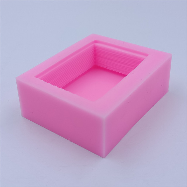 Silicone Mold for Making Book Shaped Soap