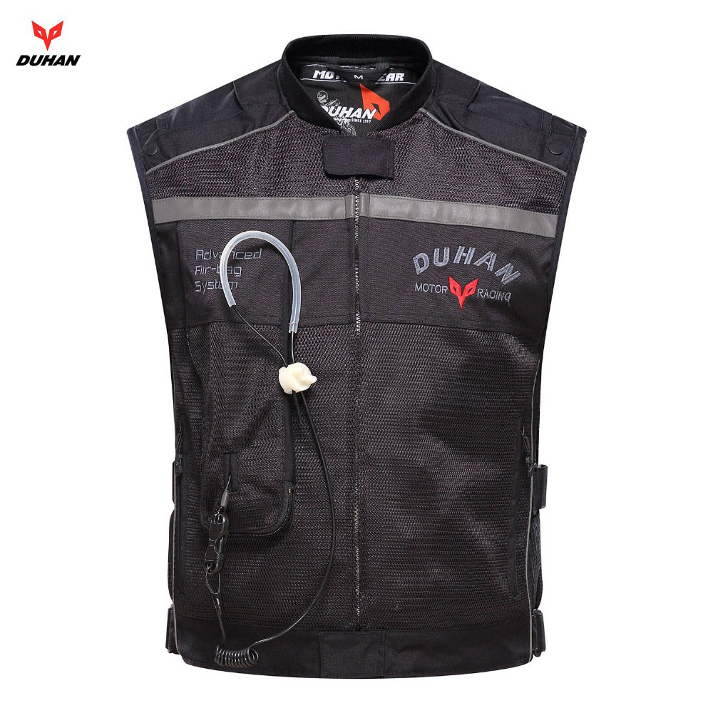 Gilet Airbag Moto Duhan gilet Airbag Moto Racing professionnel système d'airbag avancé cylindre d'airbag de protection Motocross