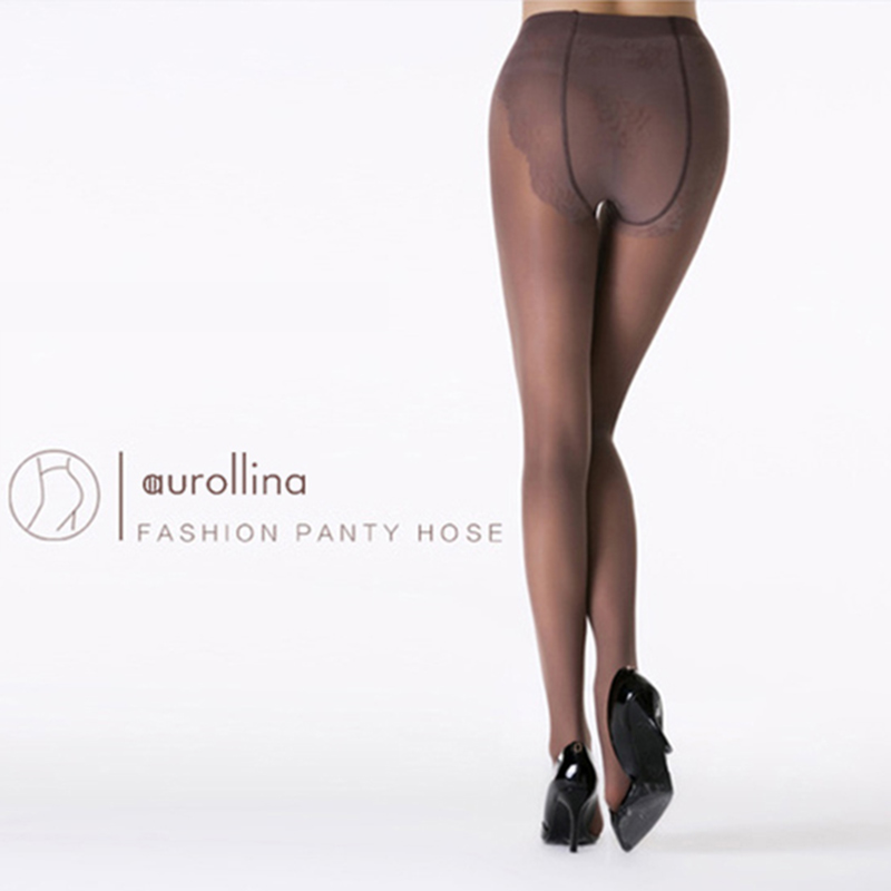 Semi-Opaque Support Pantyhose 40D Compression Panythose 6030 (6)