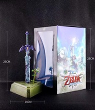 Hot Sale Vogue Hero Sword fro, Game Anime Zelda Skyward Statue Figure Figurine Toys