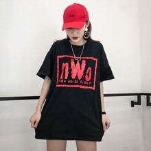 Oversize Vintage street style 2018 summer o-neck taste girl hip hop Dresses 14651c8cbc69