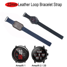 22mm Bracelet Strap For Xiaomi Amazfit GTR 47mm Pace Stratos 2 Pulsera Correa For Samsung Gear S3 Galaxy 47mm Watch Wrist Band