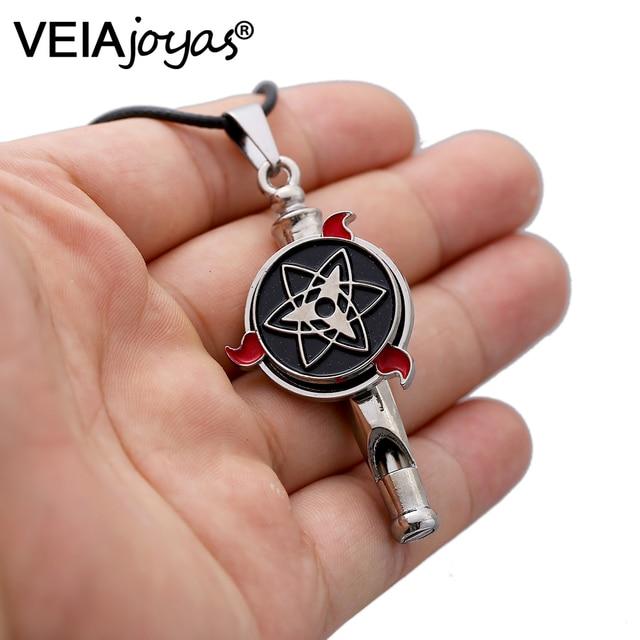 Naruto Akatsuki Rotatable Pendant Necklace